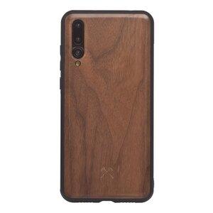 EcoBump - Huawei Case, Schutz Hülle aus Walnuss Holz  - Woodcessories