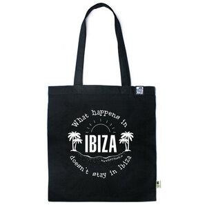 Baumwolltasche What happens in Ibiza - Gary Mash