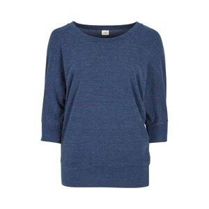 SHIRLEY DOTS - Damen - lockeres 3/4 Shirt für Yoga und Freizeit aus Biobaumwollts - Jaya