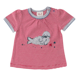 Baby Ringel T-Shirt Robbe - People Wear Organic