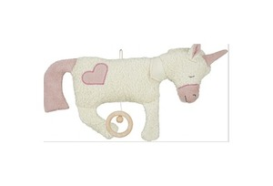 Efie Spieluhr Einhorn, Herz Applikation, Made in Germany - Efie