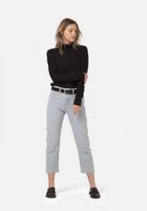 MUD Jeans Cropped Mimi / Sun Stone - Mud Jeans