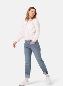 Mud Jeans Fave Straight / Heavy Stone - Mud Jeans