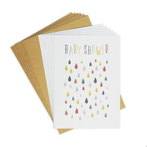 Einladungskarten-Set zur Babyparty - TELL ME
