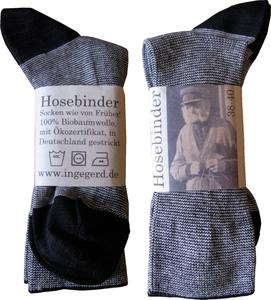 Socken - in Süddeutschland gestrickt - Hosebinder