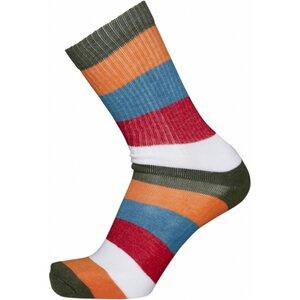Socken - 2er Pack Block striped - KnowledgeCotton Apparel
