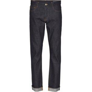 Selvedge Jeans Regular Straight - Oak raw blue  - KnowledgeCotton Apparel