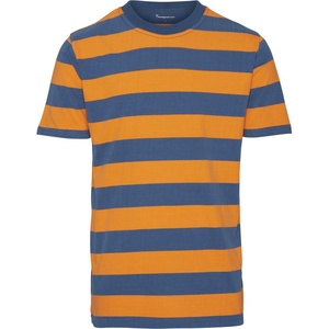 T-shirt - Striped O-Neck Tee - GOTS/Vegan - KnowledgeCotton Apparel