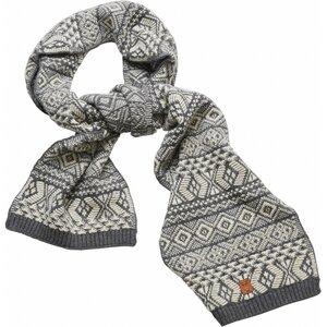 Schal aus Bio-Wolle - Jacquard scarf - GOTS - KnowledgeCotton Apparel