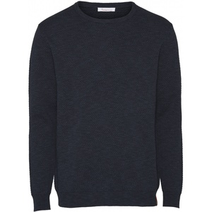 Strickpullover aus Tencel- Bobble knit crew-neck /Vegan - KnowledgeCotton Apparel