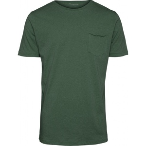 T-shirt - Basic Tee With Chest Pocket GOTS/Vegan - KnowledgeCotton Apparel