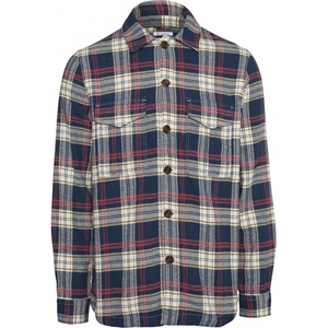 Flannel Overshirt - Big checked flannel shirt - GOTS/Vegan - KnowledgeCotton Apparel