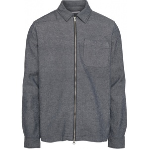 Overshirt - Strutured twill overshirt - GOTS/Vegan - KnowledgeCotton Apparel