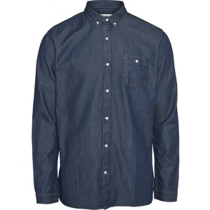 Jeanshemd - Denim Shirt W/Cut-Away Collar - GOTS/Vegan - KnowledgeCotton Apparel
