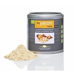 Bio Yacon Pulver 240g - Amazonas Naturprodukte