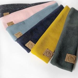 RIBBED HB Stirnband basic Farben - LDP Homemade