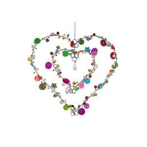 Fensterschmuck Perlenherz im Herz - Just Be