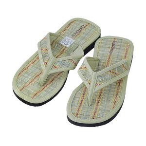 Juncus-V Stripes - vegane Zimtlatschen - Gesunde Zimtsohle Flip Flops - Les Tôngs