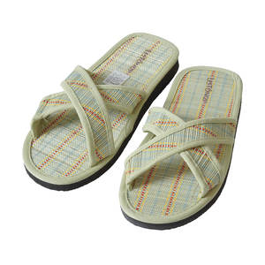 Juncus-X Stripes Offene, Gesunde und vegane Zimtlatschen - Flip Flops - Les Tôngs