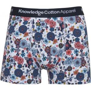 Boxershort - 1 pack AOP flower printed underwear - GOTS/Vegan - KnowledgeCotton Apparel