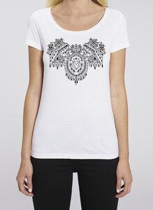 Mandala Fuchs - Frauenshirt - Róka - fair clothing