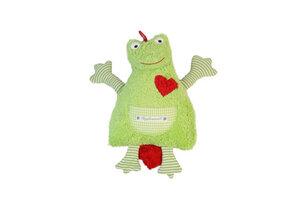 """Spieluhr """"Frosch"""" 100 % Baumwolle aus kontroliert biologische Anbau. - PAT & PATTY"""