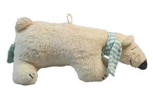 """Spieluhr """"Eisbär"""" 100 % Baumwolle aus kontroliert biologische Anbau. - PAT & PATTY"""