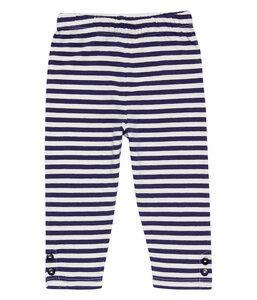 Baby u. Kinder Leggings blau geringelt Bio - sense-organics