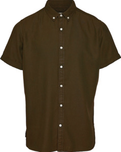 Hemd - Short sleeve twill Shirt - KnowledgeCotton Apparel