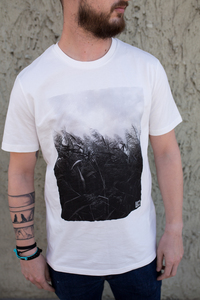 "Bio Faires Men T-Shirt ""Schilf"" vintage white - ilovemixtapes"