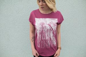 Bio Faires Frauen T-Shirt 'Forest'  - ilovemixtapes