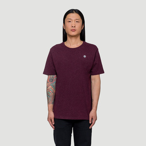 Smiley Patch T-Shirt - Rotholz