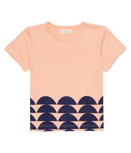 Mädchen T-Shirt lachs Bio Baumwolle - sense-organics