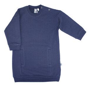 Sweatkleid dunkelblau - Pünktchen Komma Strich