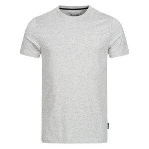 Herren Basic T-Shirt Melange aus 100 % Bio-Baumwolle - Lexi&Bö