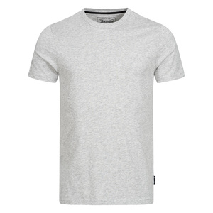 Herren Basic T-Shirt Melange - Lexi&Bö
