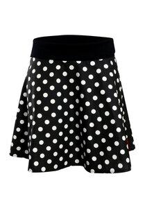 Rock Polka Dots in schwarz - Die rote Zora