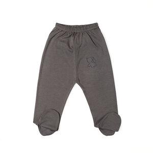 Hose mit Fuß mit Engel Stickerei - Biologischer Pima Baumwolle - B.e Quality
