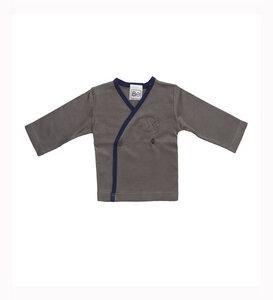 Langärmliges T-Shirt mit Engel Stickerei - Biologische Pima Baumwolle - B.e Quality
