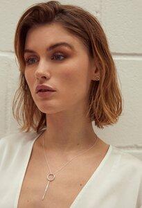 Halskette Silber - Geometric Neclace - Sterling Silver - Wild Fawn Jewellery