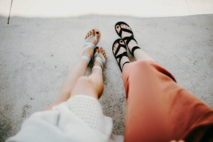 Stoffbänder für Kinfolkz Sandalen zum Austauschen - Kinfolkz