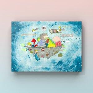 Print Planetenrettungsteam  - Atelier Blechbüchse