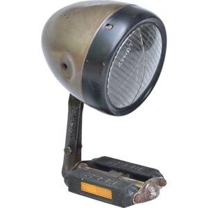 Tischlampe Pedallicht - aus alter LKW Lampe und Fahrradpedal - Trademark Living