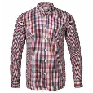 Bio Hemd Poplin Shirt Oxford Karo - KnowledgeCotton Apparel