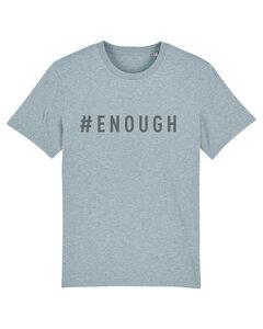 "Herren T-shirt aus Bio-Baumwolle ""ENOUGH"" - Anthracite - University of Soul"