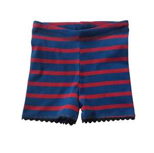 Kurze Kinder-Pants mit Zackenlitze - Ulalü