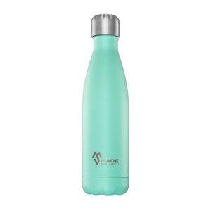 Trinkflasche mit Silkonring-Deckel - Made Sustained