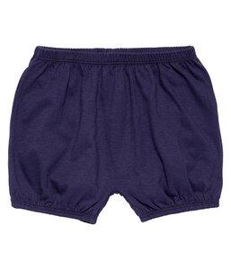 Baby Shorts dunkelblau u. blau mit Print Bio Baumwolle - sense-organics