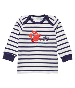 a76274feaa Jungen LA Shirt blau geringelt Bio Baumwolle Sense Organics - sense-organics