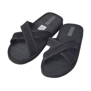 Juncus-X Dark Offene Zimtlatschen vegane &Gesunde Zimtsohle Flip Flops - Les Tôngs